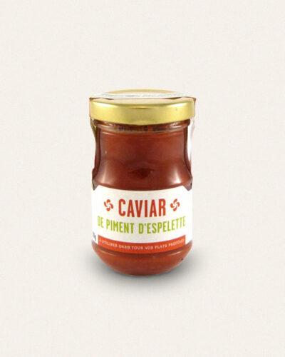 Atelier du piment, caviar de piment d espelette