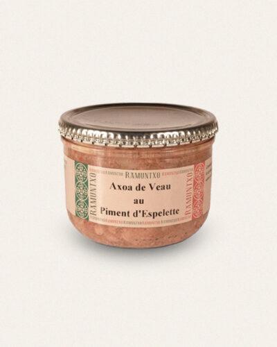 Atelier du Piment, axoa de veau au piment d espelette