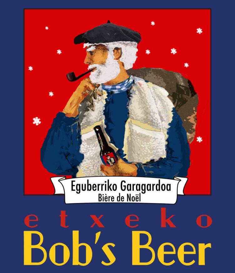 Biere de Noël Etiquette