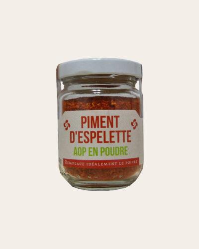 Poudre de Piment d'Espelette AOP 40gr