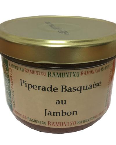Piperade basquaise jambon